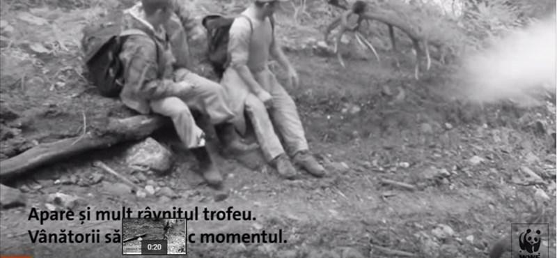 Orvvadászokat buktatott le egy kamera – videó