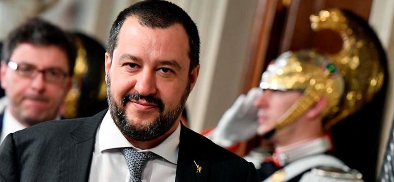 Megkegyelmezett az olasz felsőház Salvininek