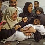 Csecsemő is van a palesztin halálos áldozatok között