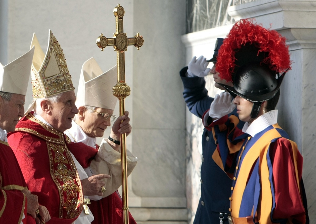 Svájci gárda  katolikus egyház róma -nagyítás-