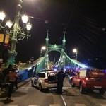Lezárták a Szabadság hidat, valaki felmászott rá