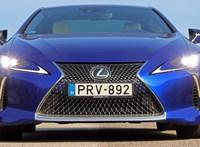 Az ördög a vállunkon: teszten a V8-as Lexus LC500