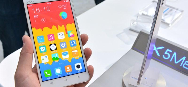 Újabb trónfosztás: most ez a világ legvékonyabb okostelefonja