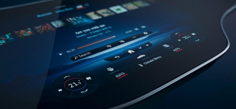 Lenyűgöző hiperkijelző uralja az új Mercedes teljes műszerfalát