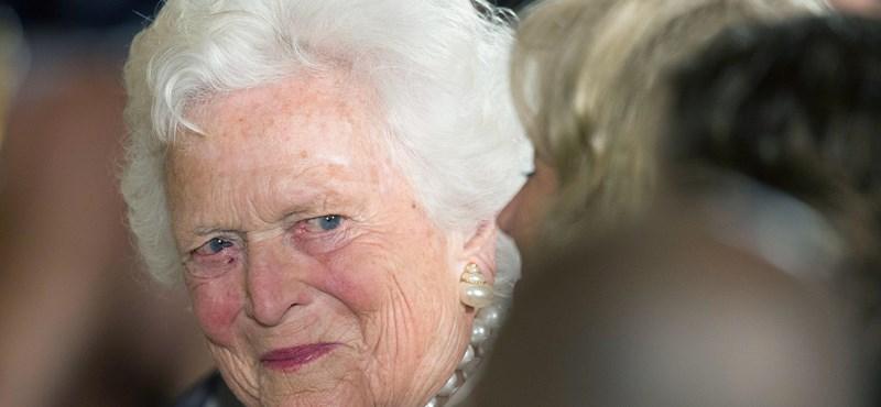 Meghalt Barbara Bush