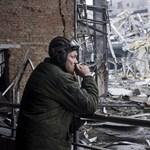 Felére esett vissza az áldozatok száma Ukrajnában