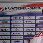 Fájdalmas arccal került földre a horvát kézisek kulcsembere, de nincs nagy baj