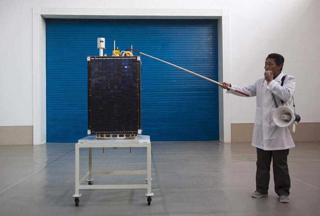 Észak-koreai műhold