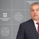 Orbán a Szépművészeti átadásán is Európát bírálta