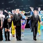 Paul és Stella McCartney a balettszínpadon