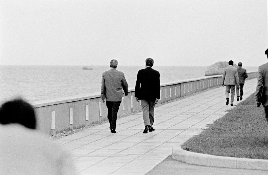1979.10.20. - Ukrajna: Krím félsziget: Leonyid Brezsnyev és Nixon találkozója - Nixonnagyitas