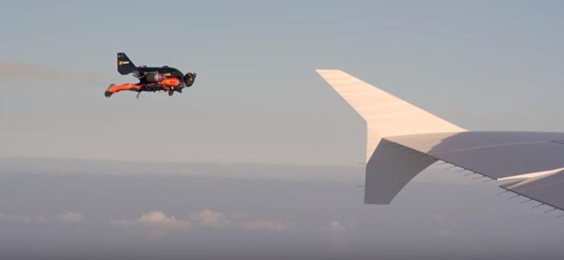 Valaki megint jetpackkel a hátán repkedett Los Angeles felett, 1800 méterig jutott