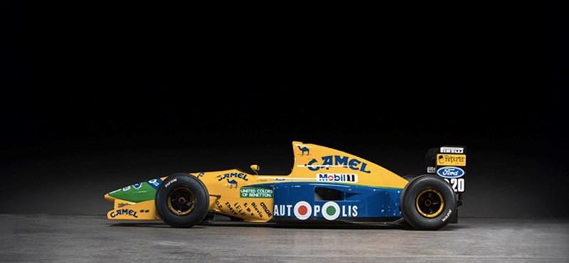 Elárverezik Schumacher autóját, nem is akármennyiért