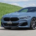 Akár 636 lóerő: a benzines és a dízel 8-as BMW-k is erősebbek lettek
