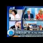 Vérbeli bunkóság egy görög fasiszta képviselőtől - videó