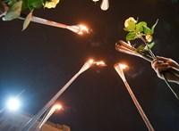 Őrláng az Színművészetin, virrasztás az Egyetem téren – ismét tüntettek a hallgatók