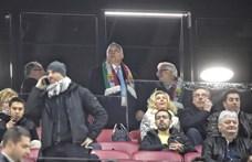 Orbán már a VIP-ben az új Puskás Arénában – fotók