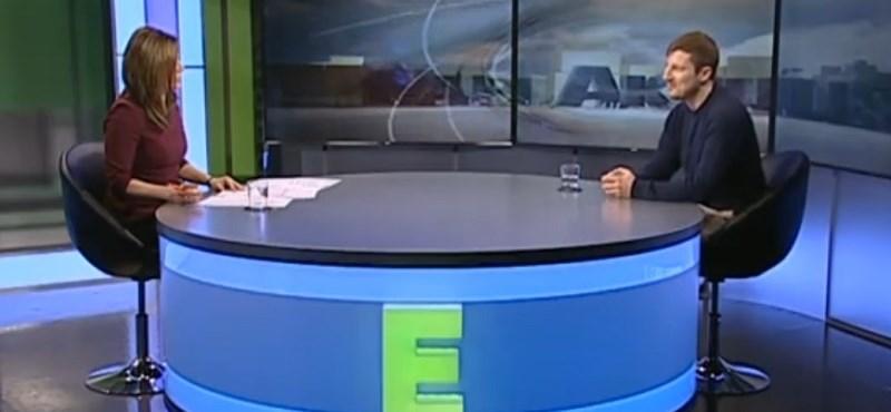 Az Echo TV behívta a Momentum vezetőjét, ám felsült a mészáros-munka