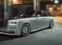 Mint egy falat kenyér: tuningot kapott a hatalmas Rolls-Royce Phantom