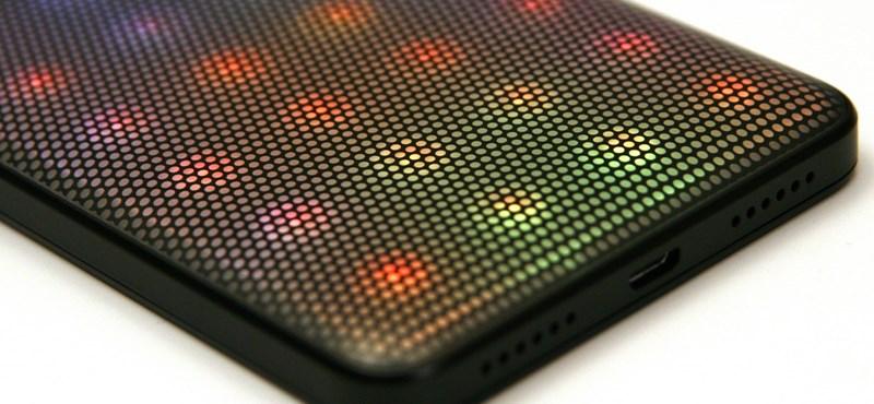 Mit tud a 60 ezer forintos telefon, melyen akár 39 LED is villog egyszerre?