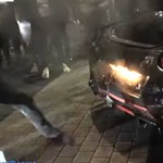 Addig túráztatták az utcán a Nissan 600 lóerős Godzilláját, hogy kigyulladt – videó
