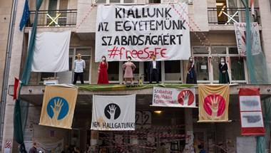 Ha sztrájk lesz a Színművészetin, alternatív oktatást szervez a Vidnyánszky vezette kuratórium