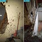 Szitává lőtték a házat, amelyben a párizsi terroristák bujkáltak – fotó