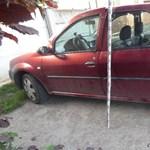 7 autót is feltört három fiatalkorú fiú Monoron