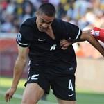Paraguay és Új-Zéland a döntést a másik csoportmeccsre hagyta