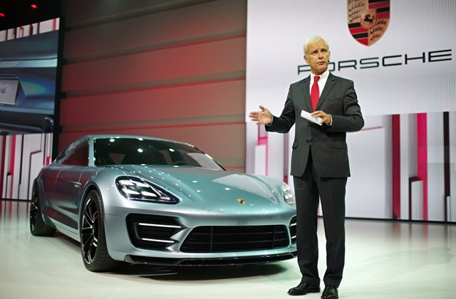 Kupékombi - Porsche Panamera Sport Turismo