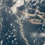 """Fotó: """"Aranyfolyót"""" fényképezett a NASA Peru felett, és ez nagyon rosszat jelent"""