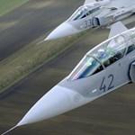 Azonosítatlan orosz gépeket fognak a magyar Gripenek Litvániában