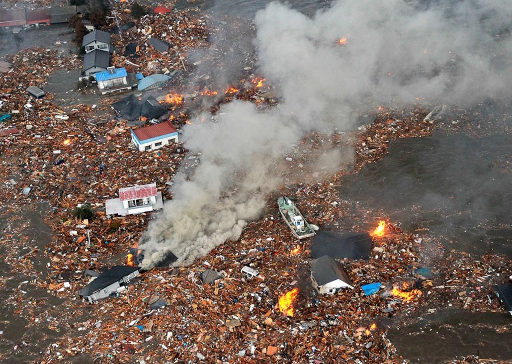 Japán cunami galéria 2