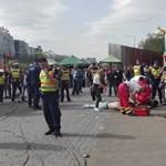 Késelés a városligeti majálison: feladta magát a másik két elkövető