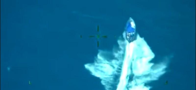 Így csapott le két tonna kokainra a mexikói haditengerészet – videó