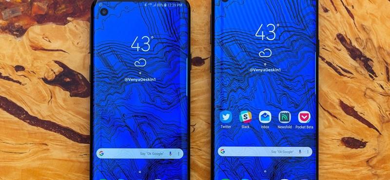 Akár ilyen is lehet: izgalmas koncepcióképeken a Samsung Galaxy S10