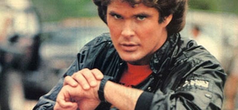 Mint a Knight Riderben: az Apple Watchról vezérelhető a Tesla –videó