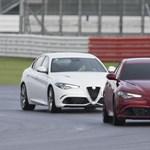 Vakon mentek rekordot az Alfa Romeo Giuliával – videó