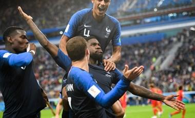 Franciaország az első vb-döntős!