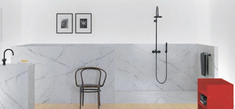 Letisztult, minimalista fürdőszoba dizájn