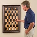Elegáns sakkszekrény