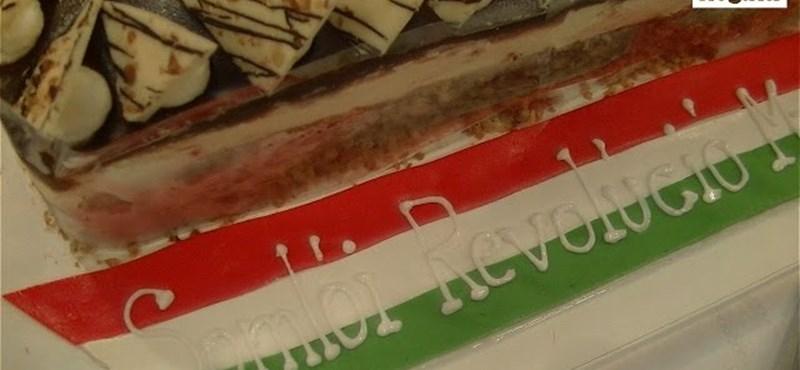 Így készül a díjnyertes torta