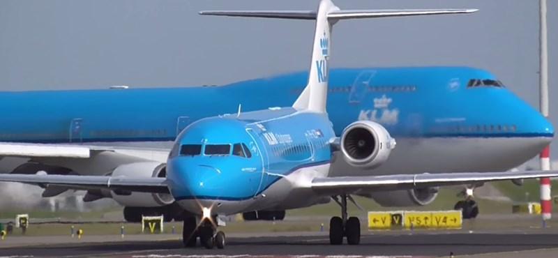 Búcsú egy legendás repülőgéptől Hollandiában