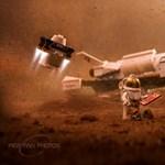A legós fotózás mesterét most a holdra szállás ihlette meg – döbbenetes képek