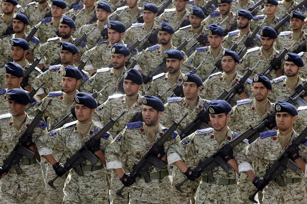 A hadsereg napja Iránban, Teherán, 2013. április 18.