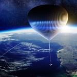Óriási léggömbbel, 38 milliós jegyáron vinne embereket az űr kapujáig egy magáncég
