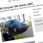 Lehet licitálni - Obama autója az eBay-en