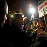 Galéria: így fogadták Orbánt Egerben