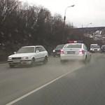 Nem épp úgy végződött az orosz autós üldözés, ahogy azt megszoktuk – videó
