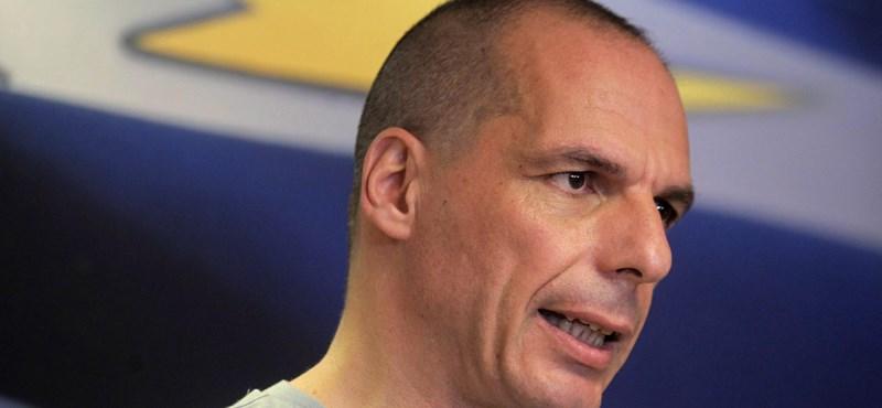 Lemond a görög pénzügyminiszter